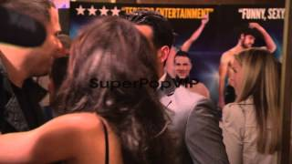 Jessica Wright and Ricky Rayment at Magic Mike European P...