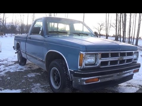 1st generation 1993 chevy s10 28l review channel cge auto 1st generation 1993 chevy s10 28l review channel cge auto video 1 sciox Choice Image