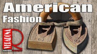 How to Restore an American Fashion Antique Iron. Jak restaurovat starožitnou žehličku. DIY