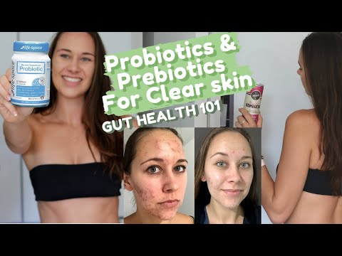 Probiotics for Acne (HOW I CLEARED MY SKIN) + Difference Between Prebiotics and Probiotics!