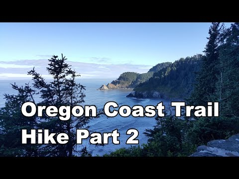 Oregon Coast Trail Hike Part 2