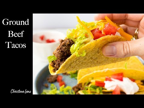 Taco Beef Recipe - Dinner For Two