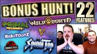 BONUS HUNT #4 - Opening 22 features on stream