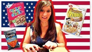 HUGE AMERICAN JUNK FOOD HAUL!!