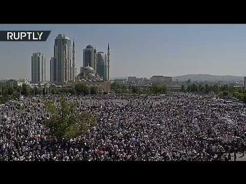 'Rohingya, we're with you!': Muslims take part in solidarity rally in Grozny