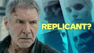 Harrison Ford on Why It Matters If Deckard Is a Replicant (SPOILER FREE) streaming