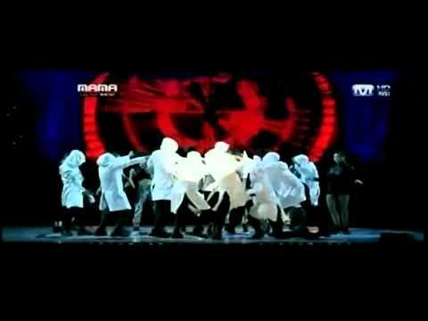 T.O.P (bigbang) TURN IT UP on mama 2010