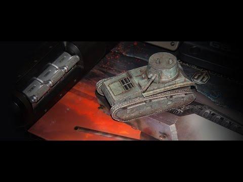 Как сделать Легкий танк из