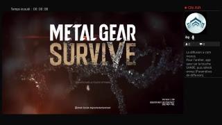 Metal gera survivre sure PS4