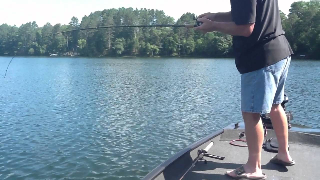 Fishing on blue lake wisconsin youtube for Lake wisconsin fishing
