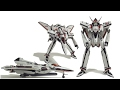 Bandai DX VF-171 Battroid to Fighter Transformation Guide の動画、YouTube動画。