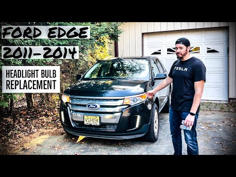 HOW TO: Ford Edge / Lincoln MKX / Headlight Bulb Replacement (2011-2014)