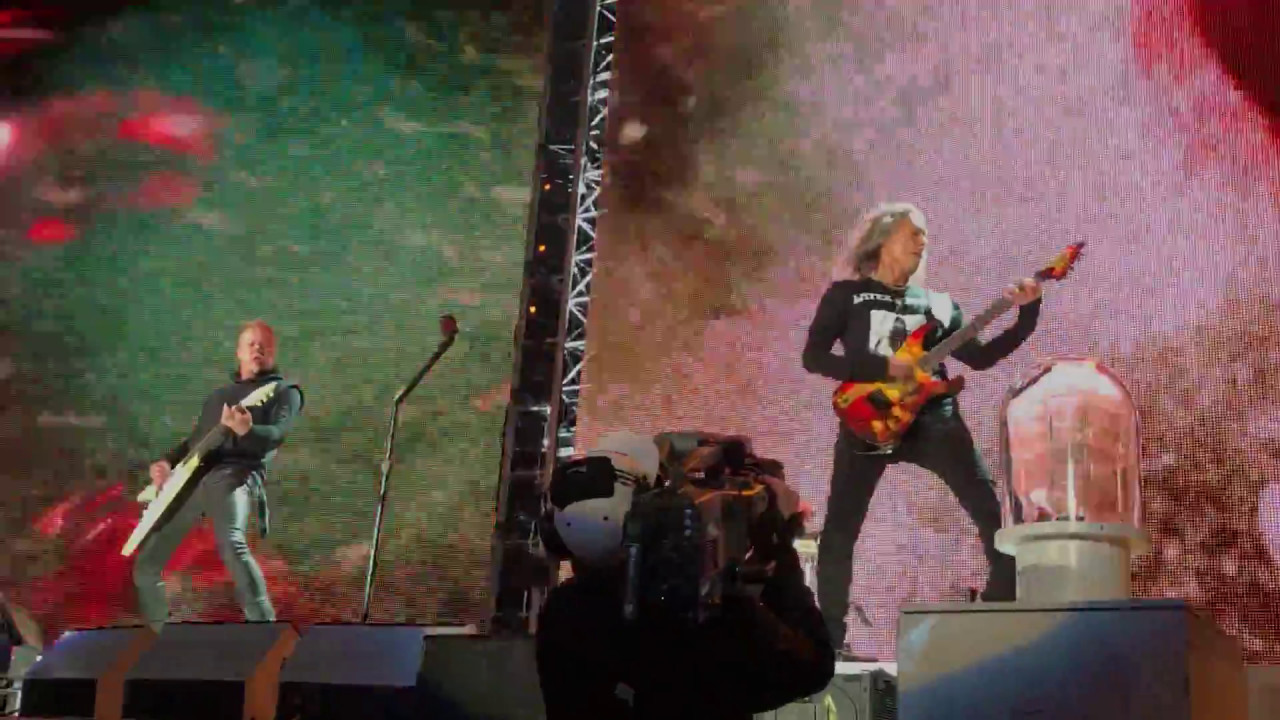 METALLICA - FIGHT FIRE WITH FIRE - LIVE IN NJ 5/14/17