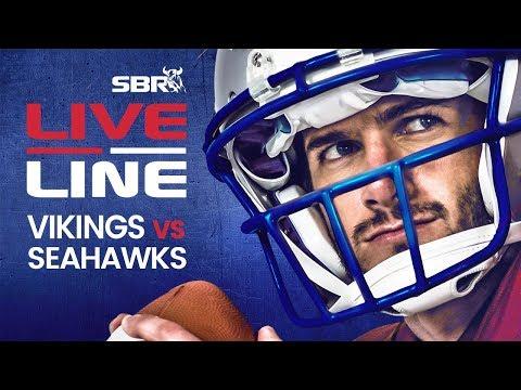 Vikings Vs Seahawks   LIVE Monday Night Football NFL Betting On SBR