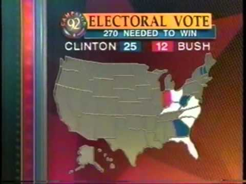 CBS News Election Night 1992