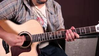 "How to Play ""Sing"" by Ed Sheeran - Acoustic Guitar Lessons - Rhythm"