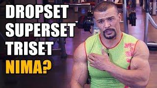 DROPSET VA SUPERSET NIMA? - Bahshulla Sayfullaev