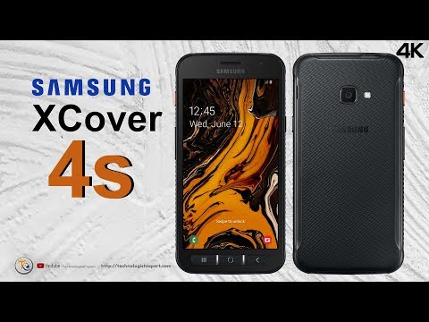 Samsung XCover 4s - Removable Battery, NFC, IP68 And MIL-STD-810G!