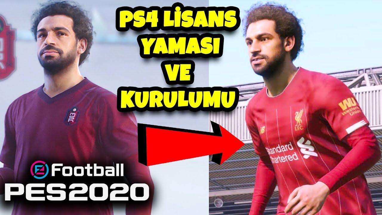 PES 2020 PS4 LİSANS YAMASI VE KURULUMU