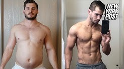 Man sheds beer belly, drops 42 pounds in this epic weight-loss transformation | New York Post
