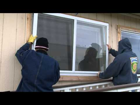 Interior and Exterior Low-E Storm Window Installation
