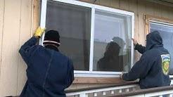 Interior and Exterior Low-E Storm Window Installation