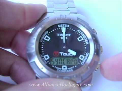 How to synchronize hands of original Tissot T Touch