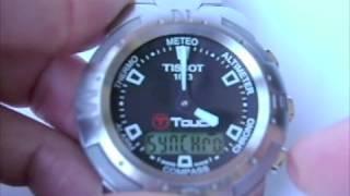 Як синхронізувати руках оригінальні годинники Tissot T натисніть