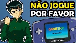 10 jogos do Gameboy Advance pra voce não jogar Piores do GBA