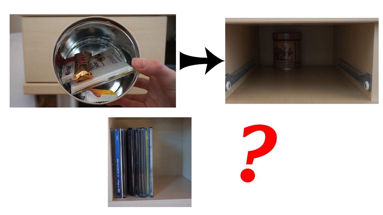 5 coole verstecke, die keiner findet! - youtube