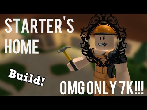 Roblox Welcome to Bloxburg[Starter's home] (Only for 7,000)