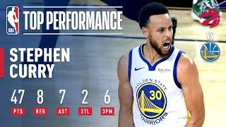 Stephen Curry Goes For a New Playoff Career-High 47 Points | NBA Finals Game 3