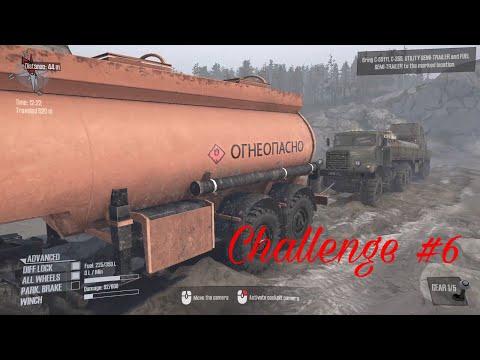MudRunner  A Spintires game™ Challenge #6. |