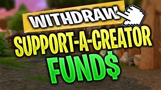 How to *WITHDRAW* money from support a creator program | Fortnite Creator Code Help