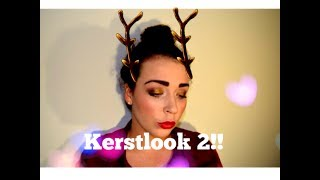 Kerst make-up look 2!!! Thumbnail
