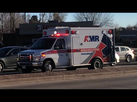 AMR Of Colorado Springs Medic 31 Responding