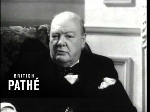Selected Originals   With The Rt Hon Winston Churchill Aka Election  No 1 1950