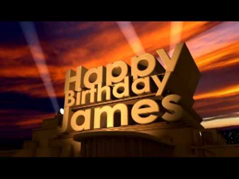 Birthday Cake James