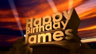 Happy Birthday James