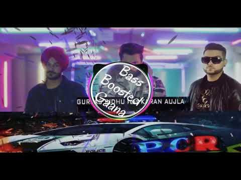 PCR [Bass Boosted] Batti Red To Blue | Karan Aujla | Gurjas Sidhu | Latest Punjabi Song 2019