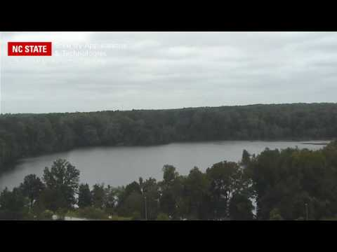 NC State Security - Lake Raleigh from Hunt Library
