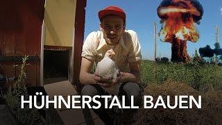 Hühnerstall selber bauen - Anleitung Heimwerkerking Fynn Kliemann