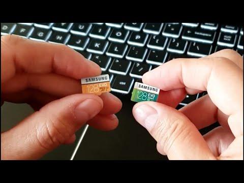 Samsung EVO VS Samsung Evo Select Micro SD Card Speed Test 🚀
