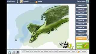 How to draw Rodan the Flying Monster