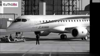 जापानी मित्सुबिशी विमान mrj की पहली उड़ान