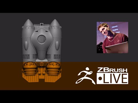 ZBrush 4R8 - Did you know that? LIVE with Paul Gaboury - Episode 8