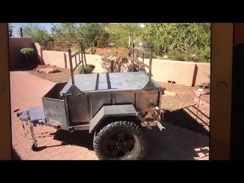 Jeep off road trailer Ammo Mule kayak rack Phoenix AZ Craigslist