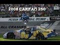 All NASCAR Crashes from the 2008 Carfax 250