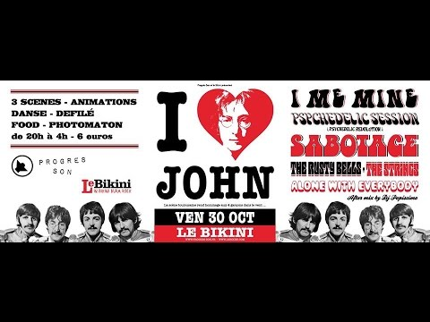 I Love John @ Le Bikini / Progrès-Son / 30.10.2015
