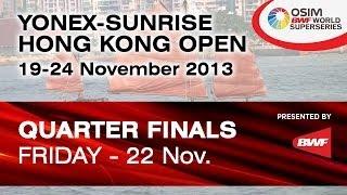QF - WS - Li Xuerui vs. Porntip Buranaprasertsuk - 2013 Hong Kong Open